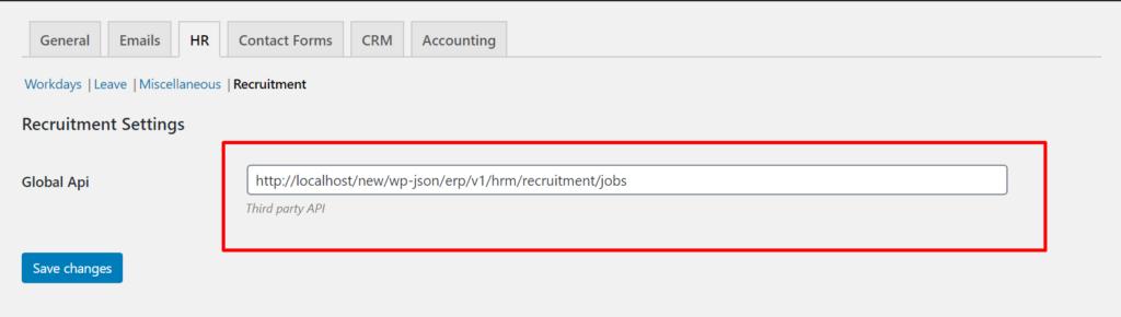 Global API Key