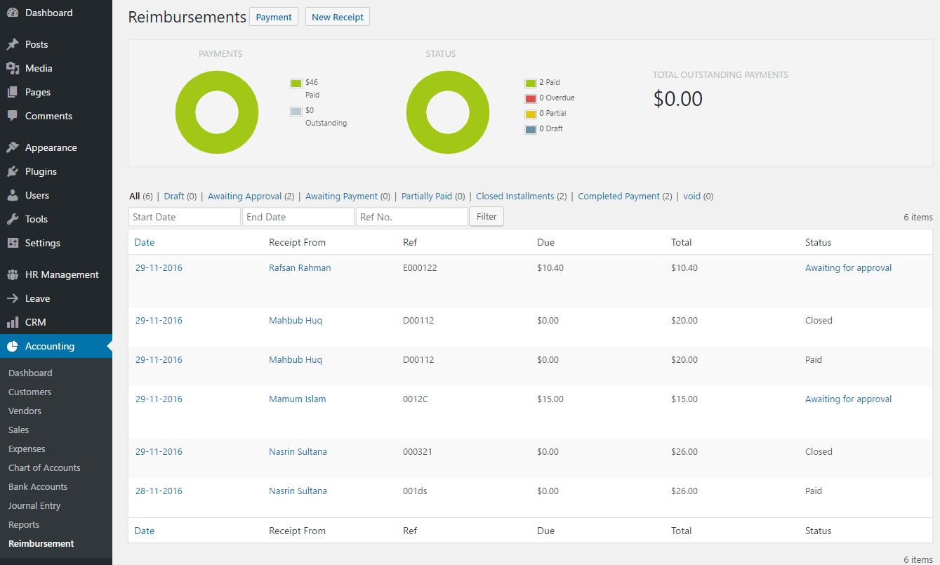 reimbursement-dashboard-approving-payment