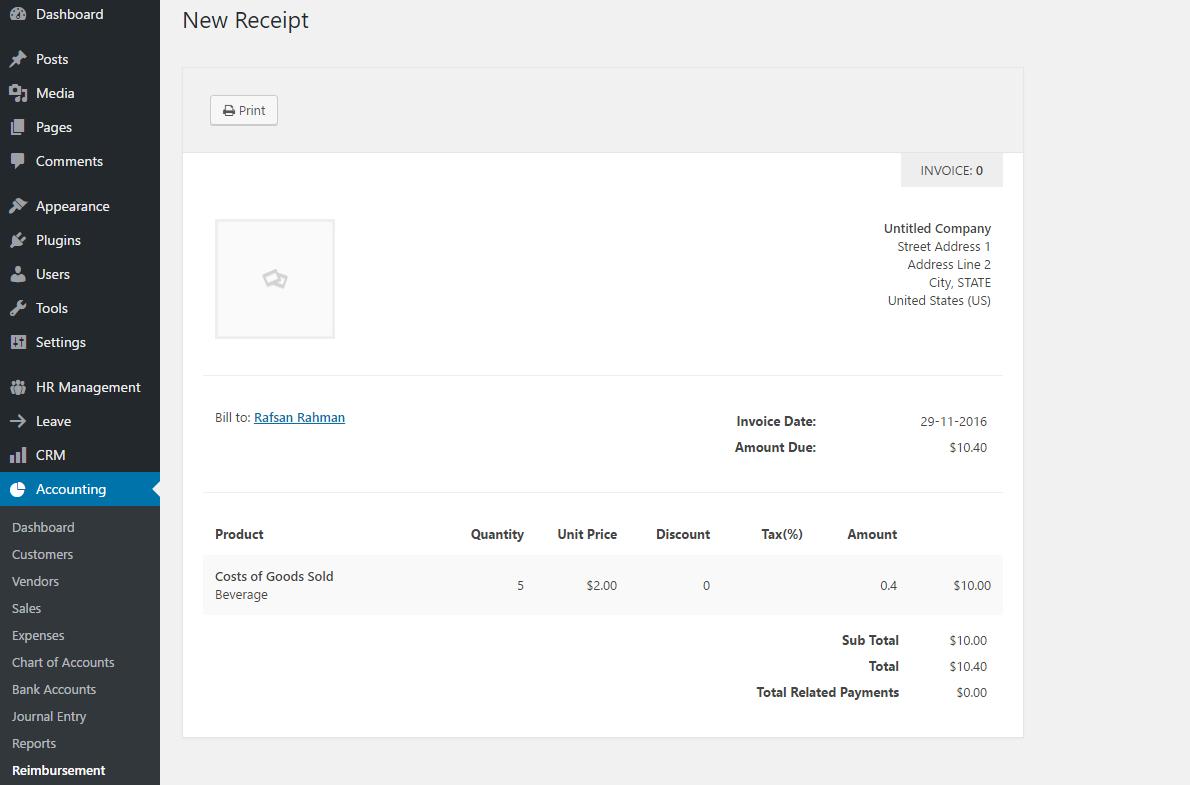 reimbursement-payment-receipt-invoice