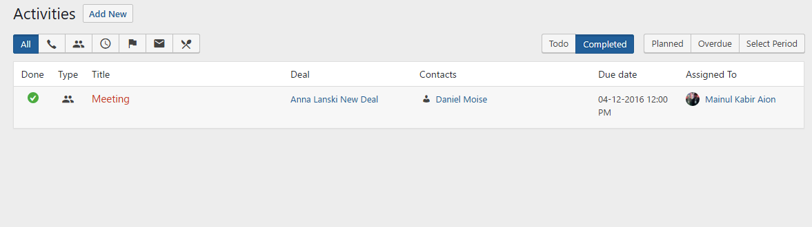 WordPress Deals Plugin