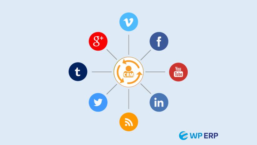 social media CRM integration