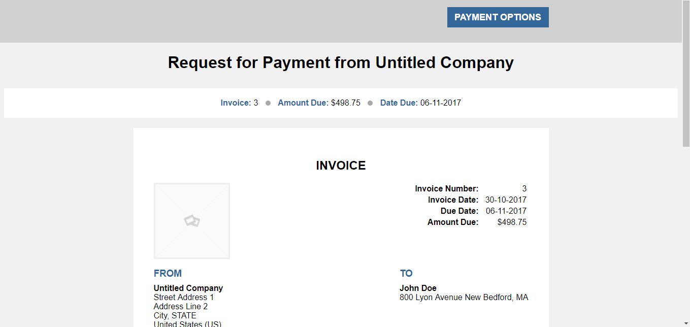 How To Take Payments From Your CRM Contacts - Invoice payment options