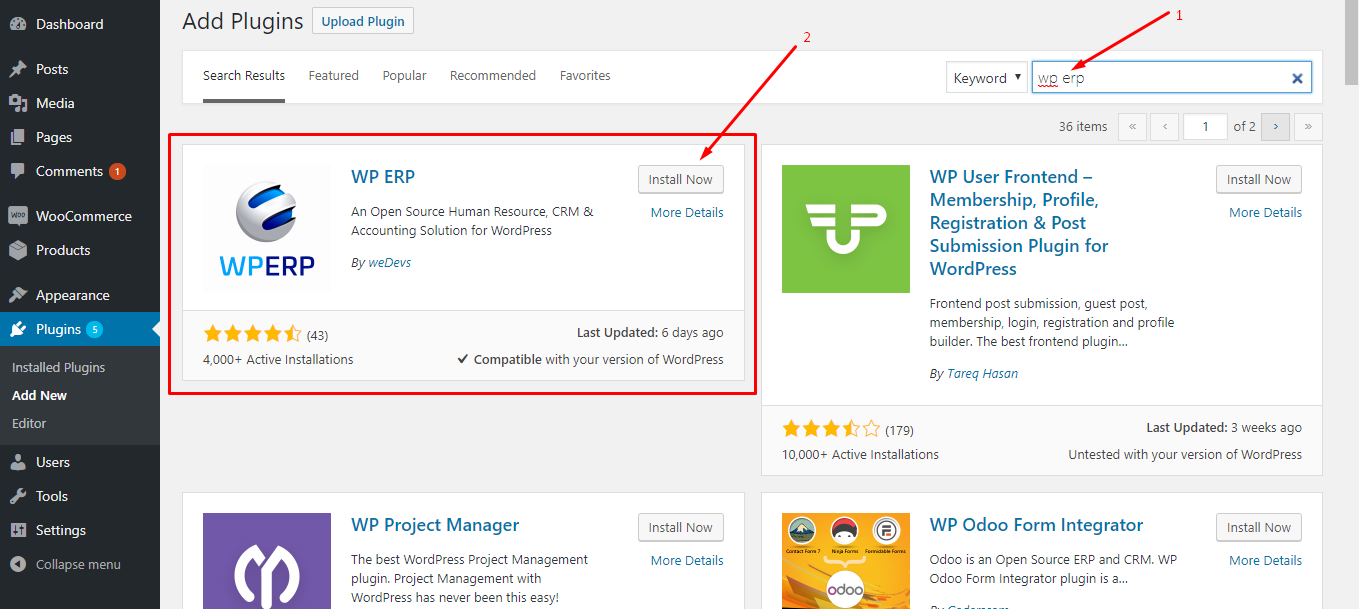 A Beginner's Guide to Implement ERP System on WordPress (Free)