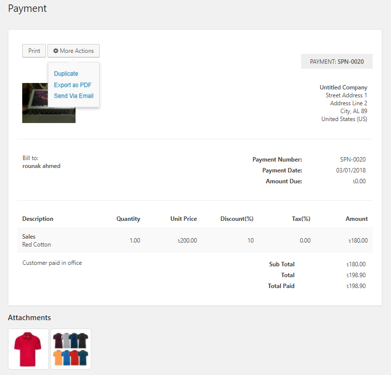 Best WordPress Invoice Plugin