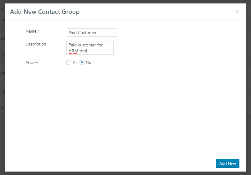 contact segmentation