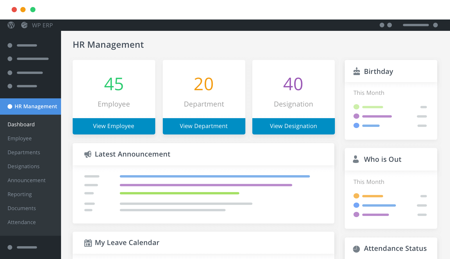 Best WordPress HRM Plugin for Employee Management - WP ERP