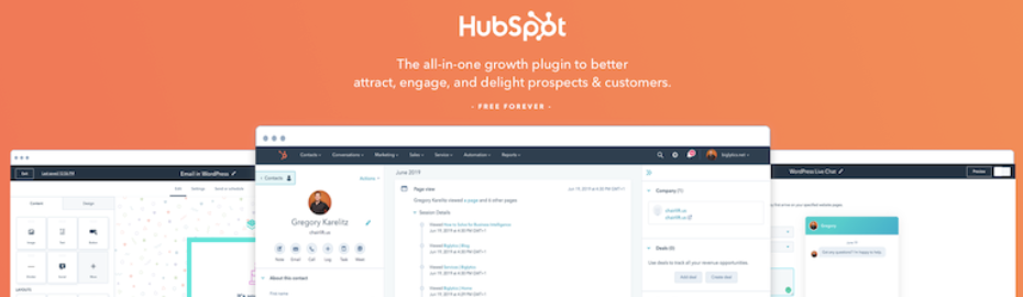 HubSpot CRM Plugin