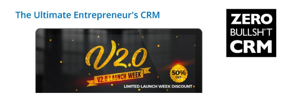 Zero BS WordPress CRM banner image