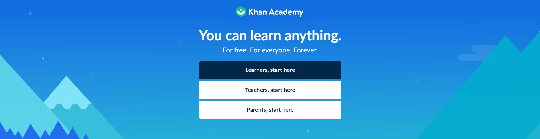 Khan Academy - best side hustles