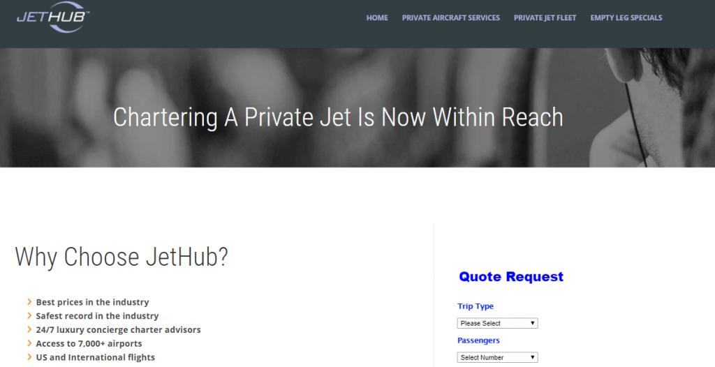 JetHub- companies using CRM