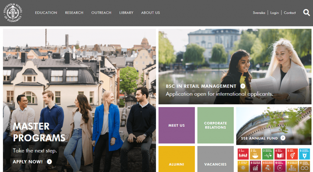 Stockholm Schools- companies using CRM