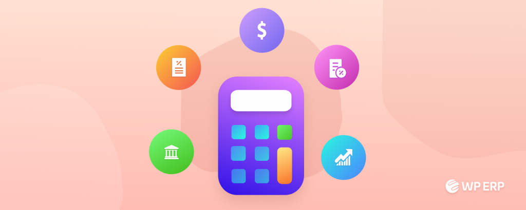 Debit and credit chart with WP ERP Accounting