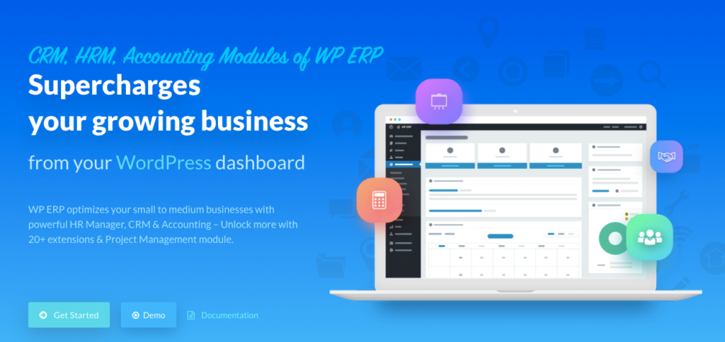 WordPress ERP