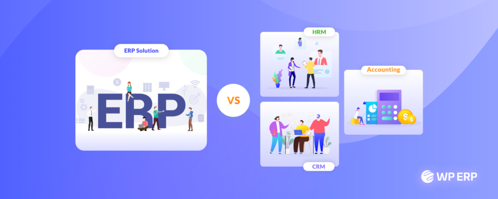 ERP vs CRM in WordPress