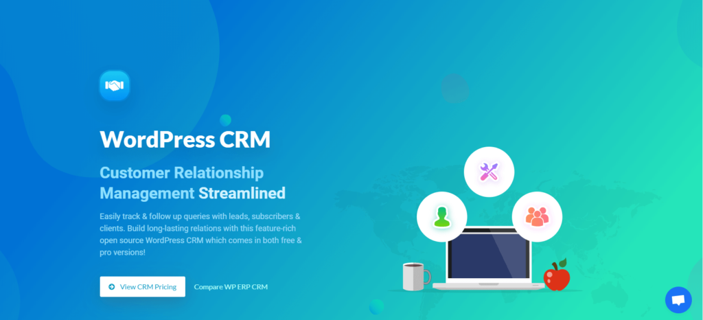 WP-ERP-CRM crm implementation process