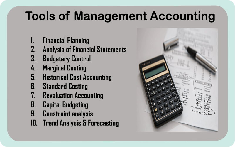tools of management accounting