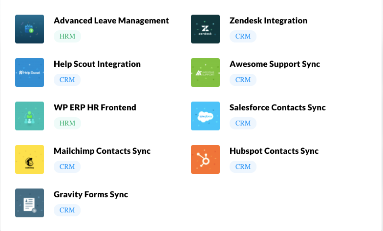 basic features of WP ERP Pro