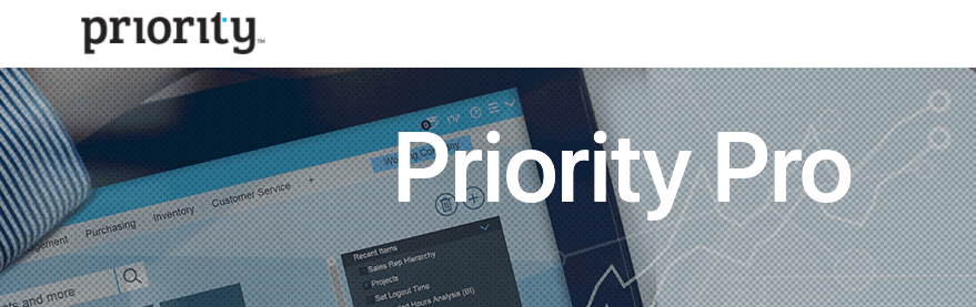 Priority Pro for cloud ERP