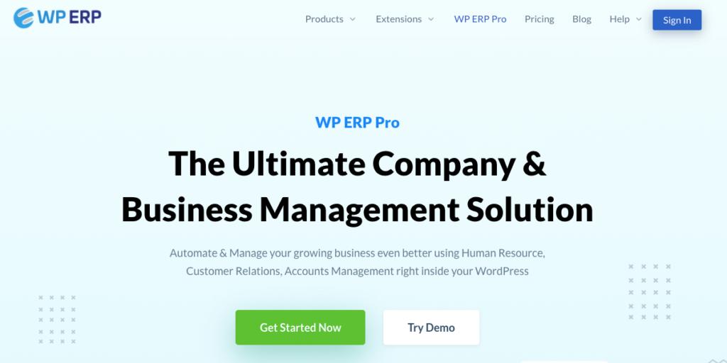 WP ERP Pro