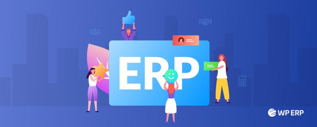 WP ERP software