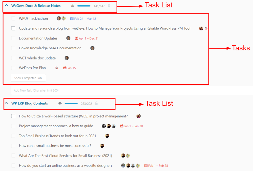 wp-project-manager-task-lists