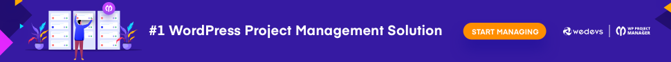 Project Manager Banner