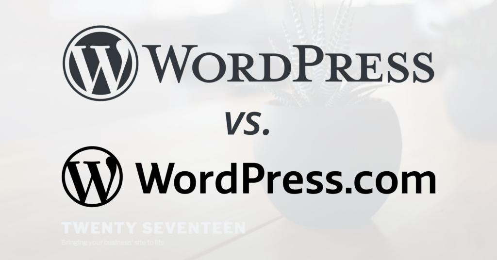 WordPress Vs WordPress.Org